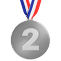 2nd Place Medal on Apple iOS 12.1