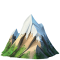 Snow-Capped Mountain on Apple iOS 12.1