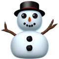 Snowman Without Snow on Apple iOS 12.1