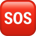 SOS Button on Apple iOS 12.1
