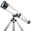 Telescope on Apple iOS 12.1