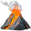 Volcano on Apple iOS 12.1