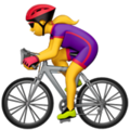 Woman Biking on Apple iOS 12.1