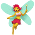 Woman Fairy on Apple iOS 12.1