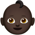 Baby: Dark Skin Tone on Apple iOS 12.2