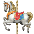 Carousel Horse on Apple iOS 12.2