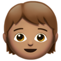 Child: Medium Skin Tone on Apple iOS 12.2