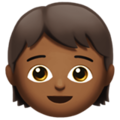 Child: Medium-Dark Skin Tone on Apple iOS 12.2