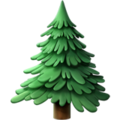 Evergreen Tree on Apple iOS 12.2