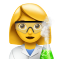 Woman Scientist on Apple iOS 12.2