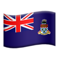 Flag: Cayman Islands on Apple iOS 12.2