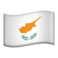 Flag: Cyprus on Apple iOS 12.2