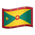 Flag: Grenada on Apple iOS 12.2