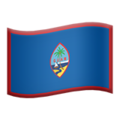 Flag: Guam on Apple iOS 12.2