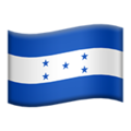 Flag: Honduras on Apple iOS 12.2