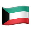 Flag: Kuwait on Apple iOS 12.2