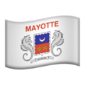 Flag: Mayotte on Apple iOS 12.2