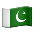 Flag: Pakistan on Apple iOS 12.2