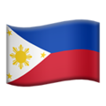 Flag: Philippines on Apple iOS 12.2