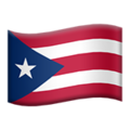 Flag: Puerto Rico on Apple iOS 12.2