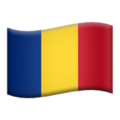 Flag: Romania on Apple iOS 12.2