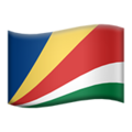 Flag: Seychelles on Apple iOS 12.2