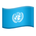 Flag: United Nations on Apple iOS 12.2