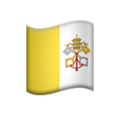 Flag: Vatican City on Apple iOS 12.2