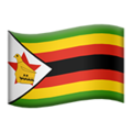 Flag: Zimbabwe on Apple iOS 12.2