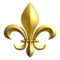 Fleur-de-lis on Apple iOS 12.2