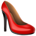 High-Heeled Shoe on Apple iOS 12.2
