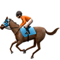 Horse Racing: Medium Skin Tone on Apple iOS 12.2