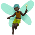 Man Fairy: Dark Skin Tone on Apple iOS 12.2