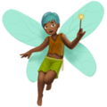 Man Fairy: Medium-Dark Skin Tone on Apple iOS 12.2