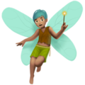 Man Fairy: Medium Skin Tone on Apple iOS 12.2