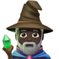 Man Mage: Dark Skin Tone on Apple iOS 12.2