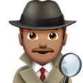 Detective: Medium Skin Tone on Apple iOS 12.2
