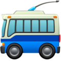 Trolleybus on Apple iOS 12.2