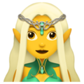 Woman Elf on Apple iOS 12.2
