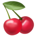 Cherries on Apple iOS 13.1