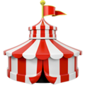 Circus Tent on Apple iOS 13.1