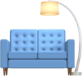 Couch and Lamp on Apple iOS 13.1
