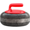 Curling Stone on Apple iOS 13.1