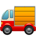 Delivery Truck on Apple iOS 13.1