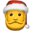 Santa Claus on Apple iOS 13.1