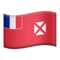 Flag: Wallis & Futuna on Apple iOS 13.1