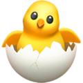 Hatching Chick on Apple iOS 13.1