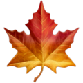 Maple Leaf on Apple iOS 13.1