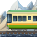 Mountain Railway on Apple iOS 13.1