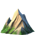 Mountain on Apple iOS 13.1